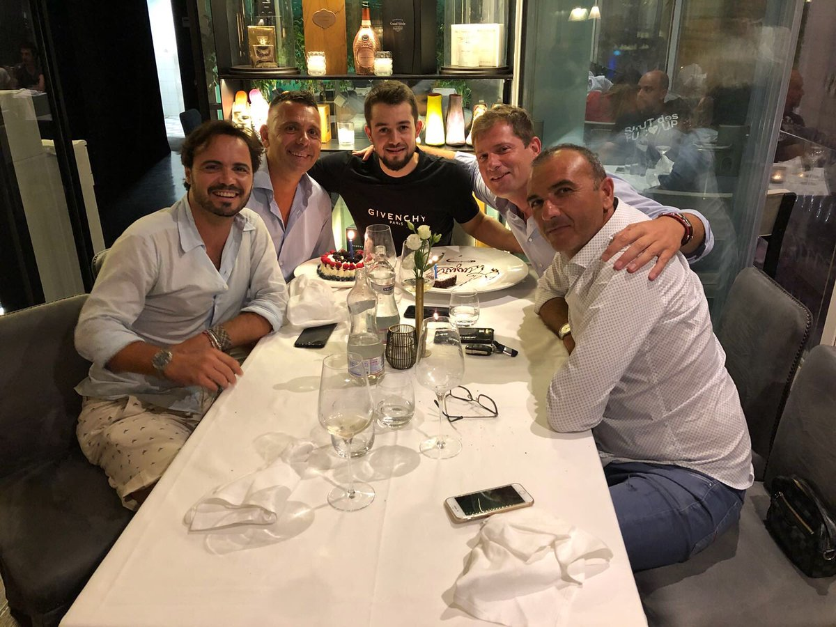 Although I'm not the one to celebrate very much, I really had a great time with great people yesterday!  Thank you for all your birthday messages. Vielen Dank!   #graziemille #friends #grateful #birthday #ForzaNapoliSempre<br>http://pic.twitter.com/kcuHsfF0Z8