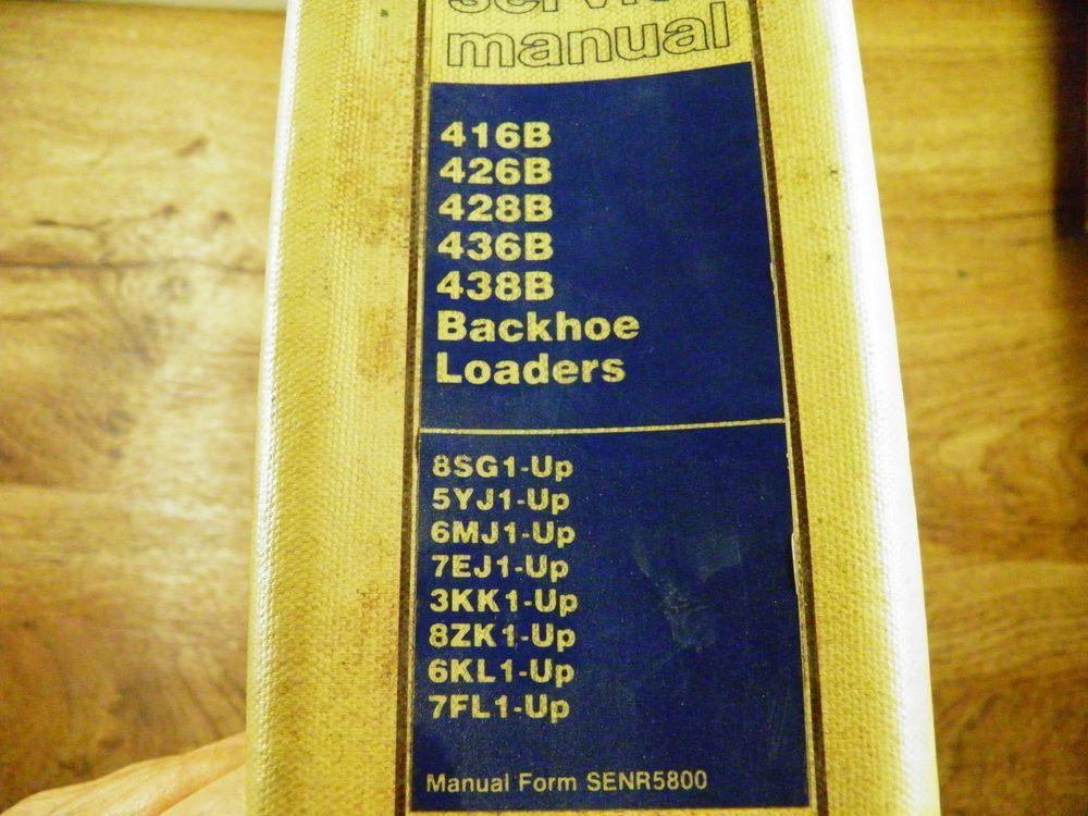 Cat 428b Service Manual