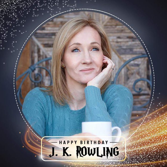 Happy Birthday J.K. Rowling. The woman whose pen is mightier than the Elder wand itself!