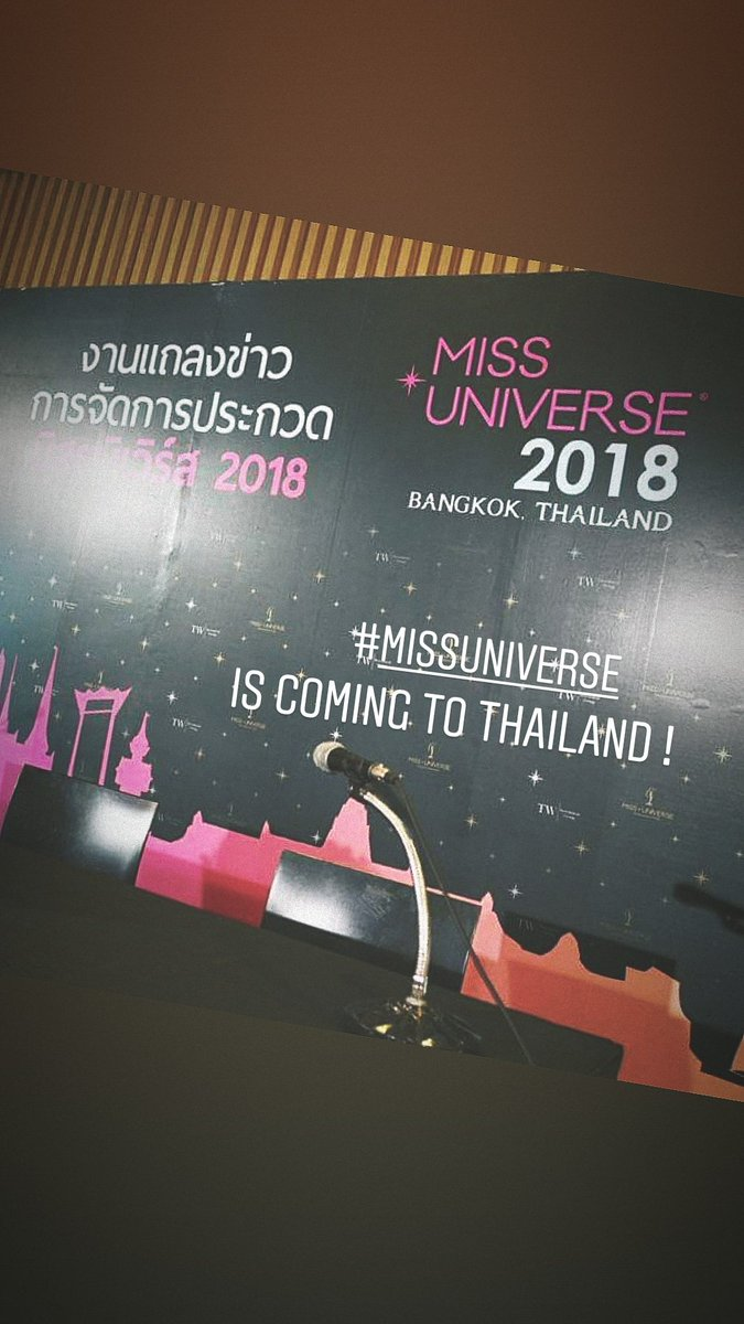 Miss Universe 2018 will be held in Bangkok, Thailand on December 16 - Page 3 DjacOzCU0AEb7eF