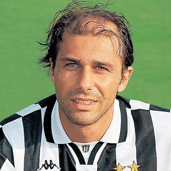Happy 48th birthday to Antonio Conte and happy 14th birthday to his hair.