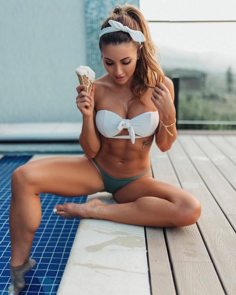Bikini Danielle Vaughan nude (17 photos) Cleavage, 2020, underwear