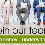 We are looking for a talented Underwriter. Click here to find out more https://t.co/kWQHbQqhuy