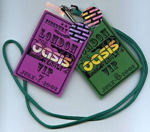 VIP passes, poster and tickets for Oasis Finsbury Park 16 years ago (July 2002), which was part of their Heathen Chemistry tour. Click here to check out the setlist ▶︎ Oasis.lnk.to/EpiW_