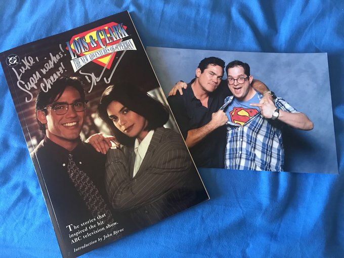 Dean Cain, happy birthday! Have a Super day!