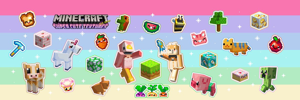 J Studios On Twitter The Super Cute Texture Pack With Skins - Skins para minecraft wii u