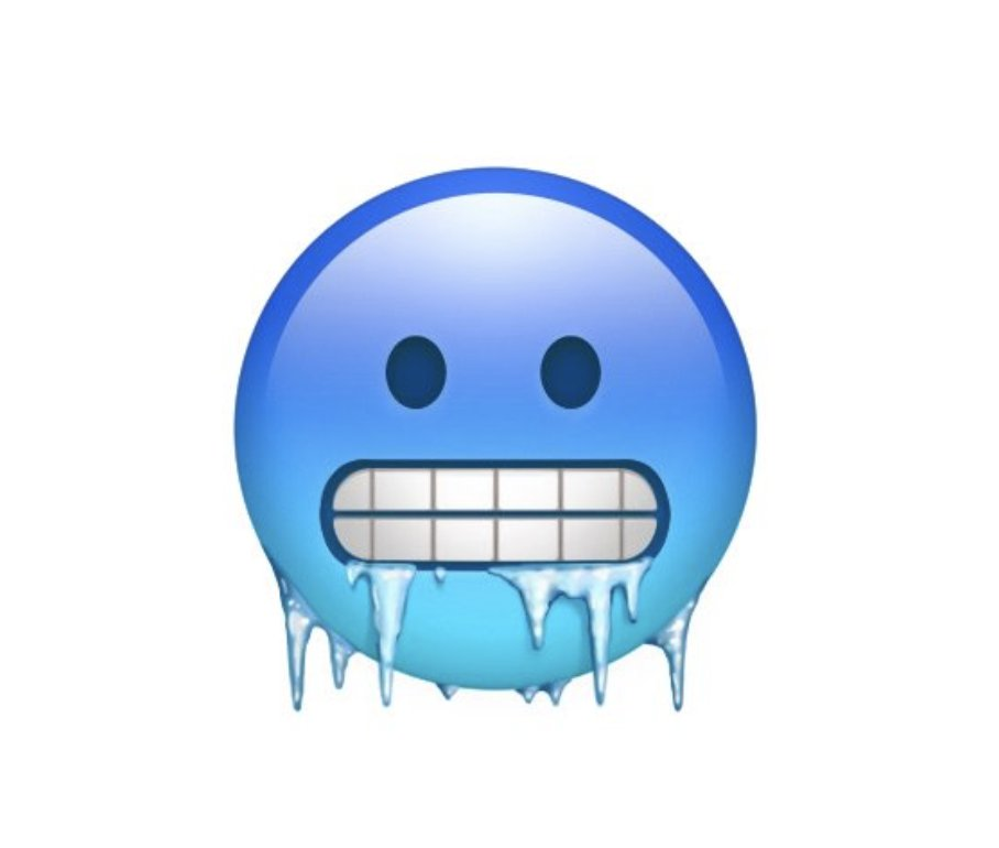 Image result for cold emoji