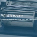Image for the Tweet beginning: ebeam offers a #sustainable alternative