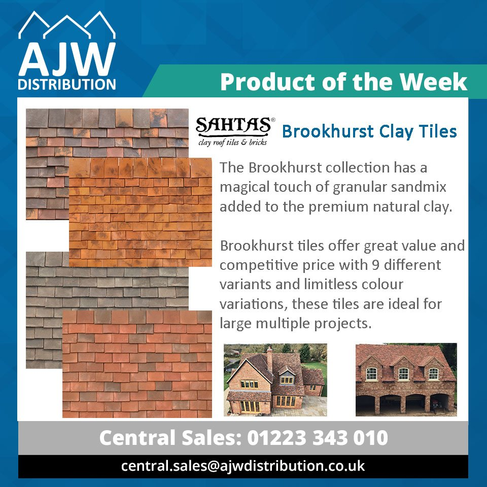 Ajw Distribution Ltd Pa Twitter Product Of The Week Sahtasproducts Brookhurst Handmade Clay Roof Tiles Are Ideal For Larger Multiple Projects Where Costing Has To Be Reduced The Slight Variations In Size