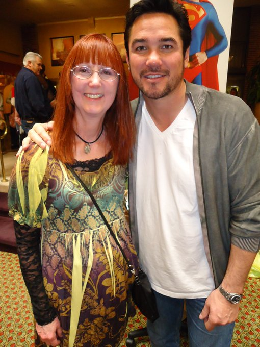 Happy Birthday Dean Cain!  Was awesome to met you at Chiller Con!