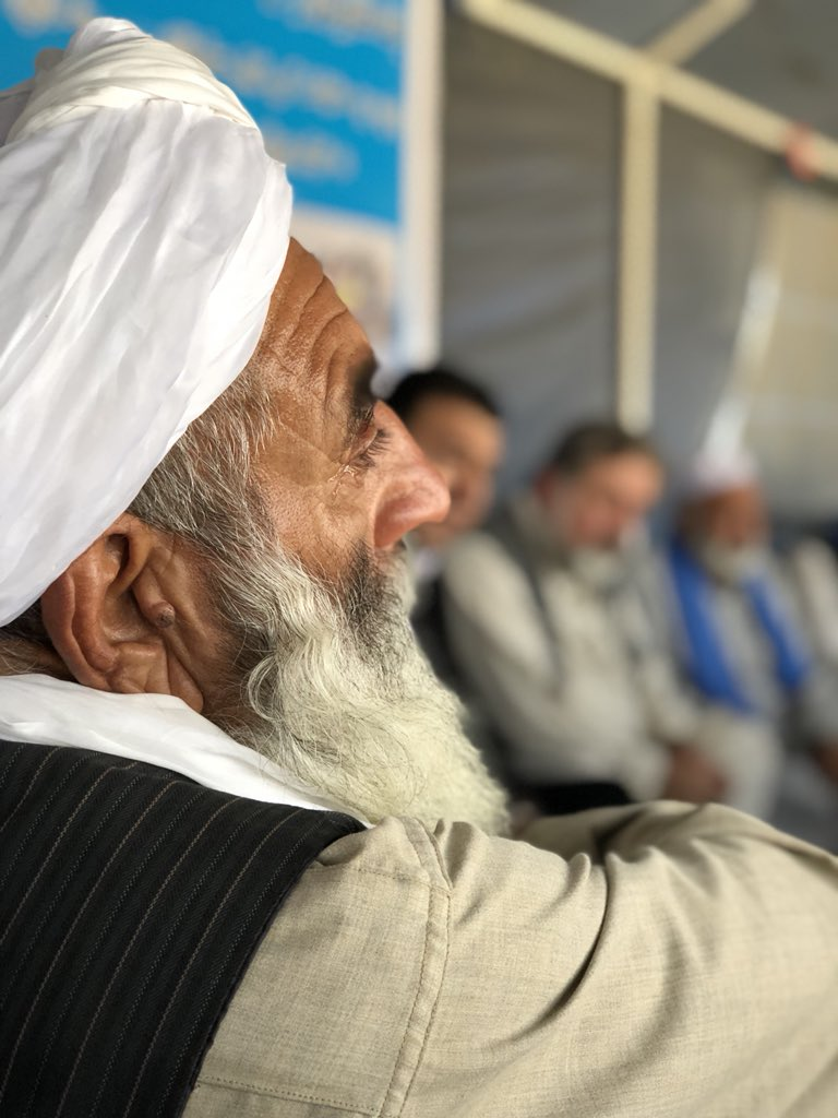 The Helmand peace marchers presented the ambassador of Organization of Islamic Cooperation (57 states) a blank letter today and said:  the hurt feelings and heartbreak we have of Islamic countries for their attitude to bloodshed in Afghanistan would not have fit in a letter.