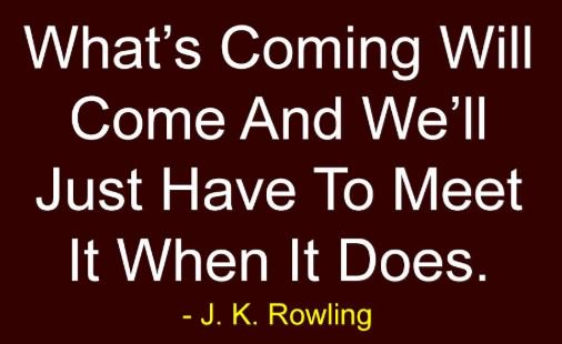"Happy ""Resolute\"" Tuesday! happy birthday J.K. Rowling!"