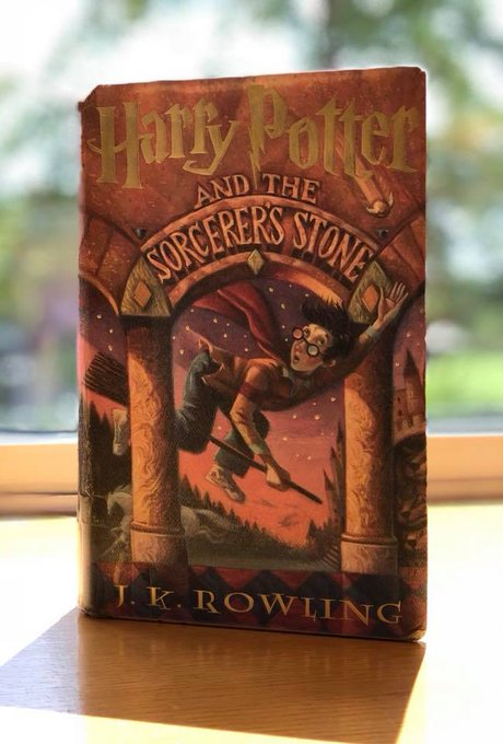 Where it all began. Happy birthday, J. K. Rowling! Where would we be without Harry, Hermione, and Ron?!