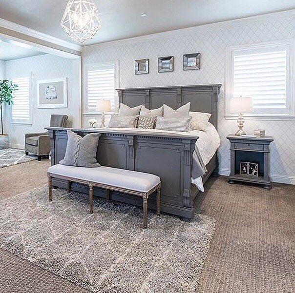 "Mor Furniture على تويتر: ""We love this elegant bedroom design"