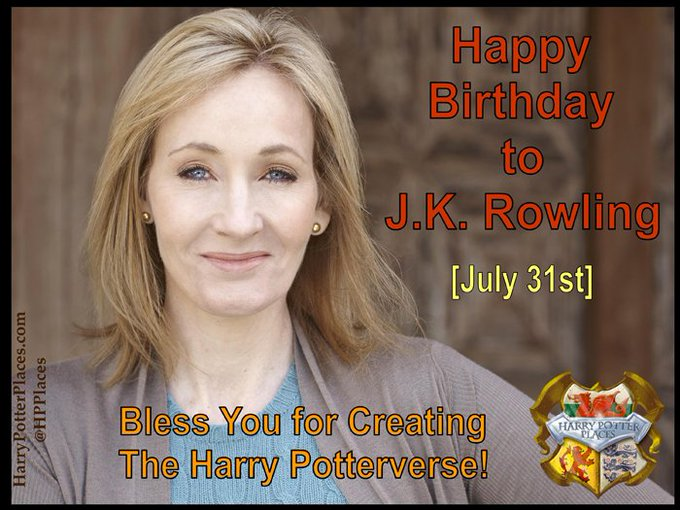 Happy Birthday to J.K. Rowling