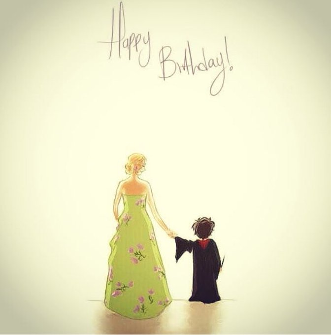 Happy Birthday Harry Potter and J.K. Rowling