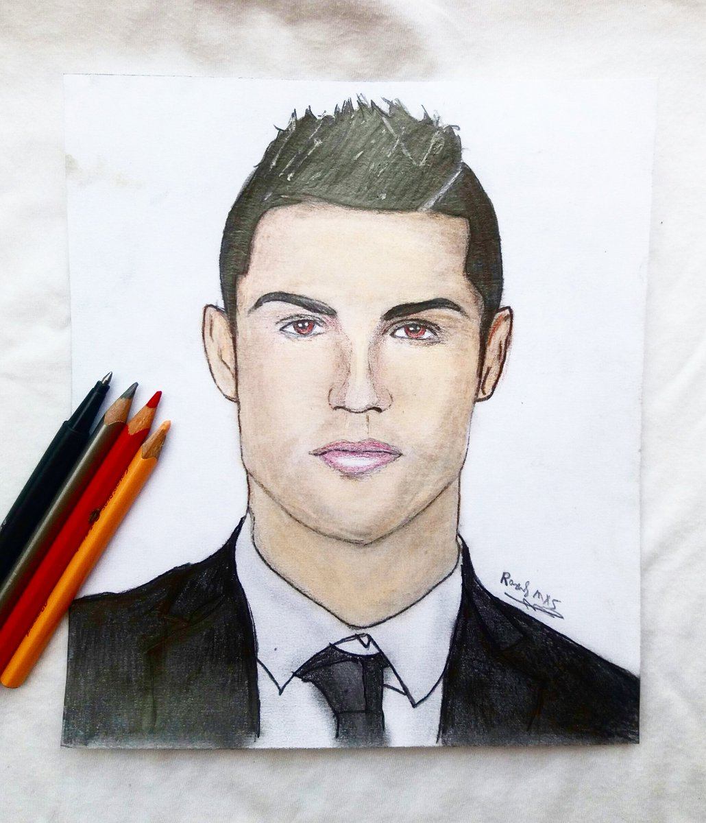 Raouf mxs on twitter my drawing of cristiano ronaldo cristiano