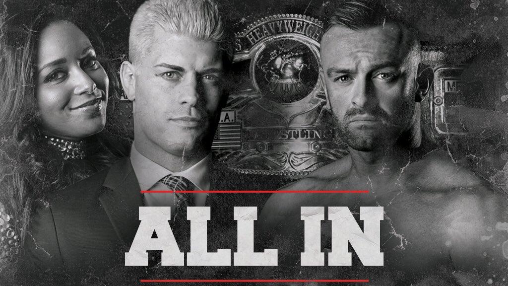 Cody vs Nick Aldis
