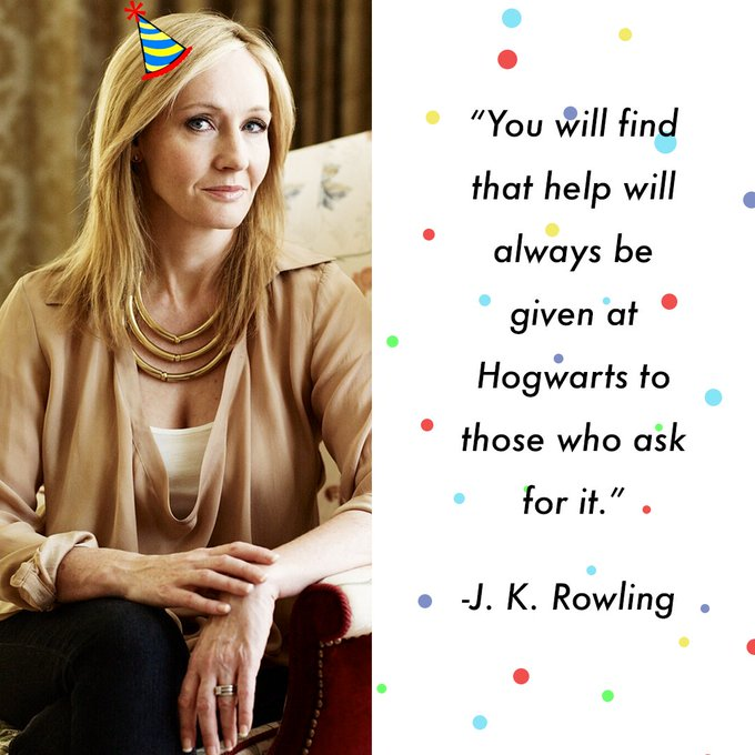 Happy Birthday J.K. Rowling!