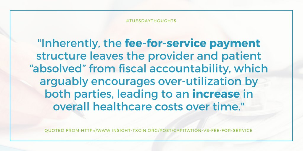 fee for service research paper 1florida medicaid establishes a fee for every service for every type of licensed healthcare practitioner inpatient inpatient hospital fees are flat fees per visit-day, where the fee is a function of the hospital's total costs for treating medicaid.