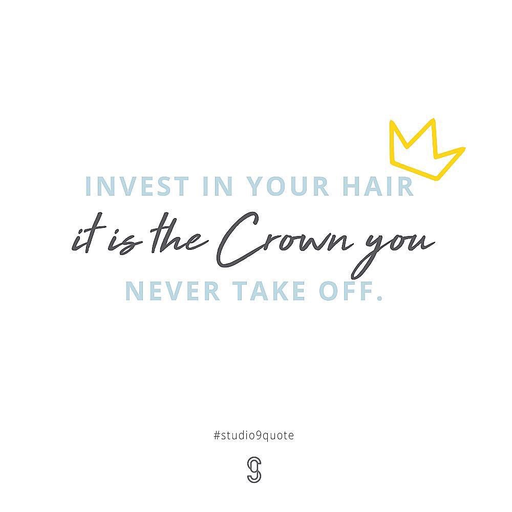 Studio9 beauty bar s9beautybar twitter studio9quote hair haircouture haircare crown quote balmain balmainhaircouture kevinmurphy kevinmurphyhair cabellopicittertuh9xlnirm izmirmasajfo