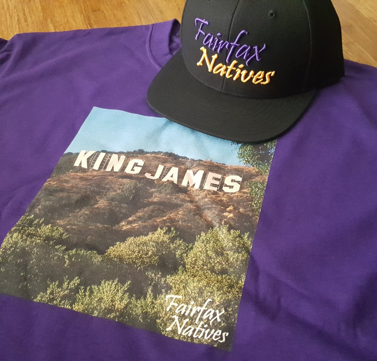 c1f463f04 Grab our  KingJames tee while you re at it http   www.FairfaxNatives.com  pic.twitter.com MaqB7AJsJo · LeBron James ...