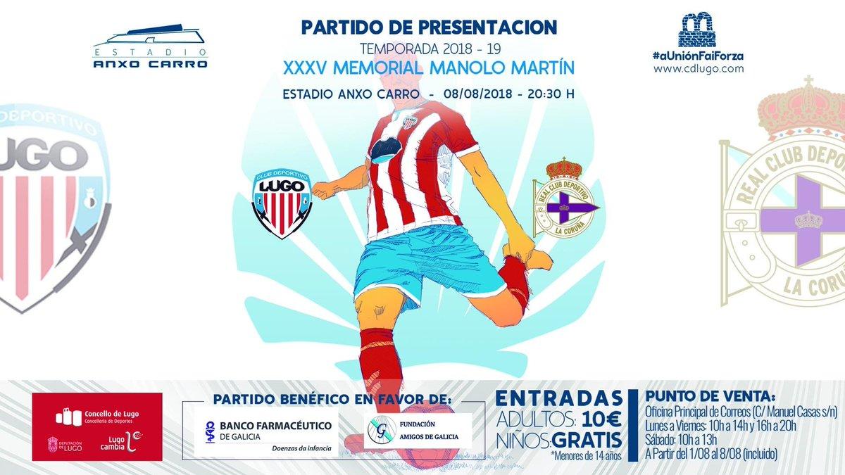 Cartel promocional del Lugo-Dépor (Foto: RCD).