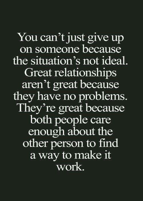 Mending relationships