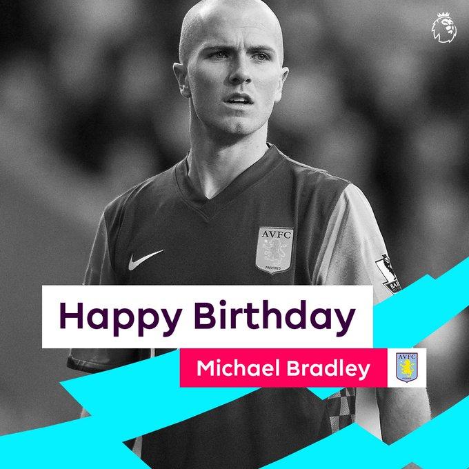 Happy 31st birthday Michael Bradley
