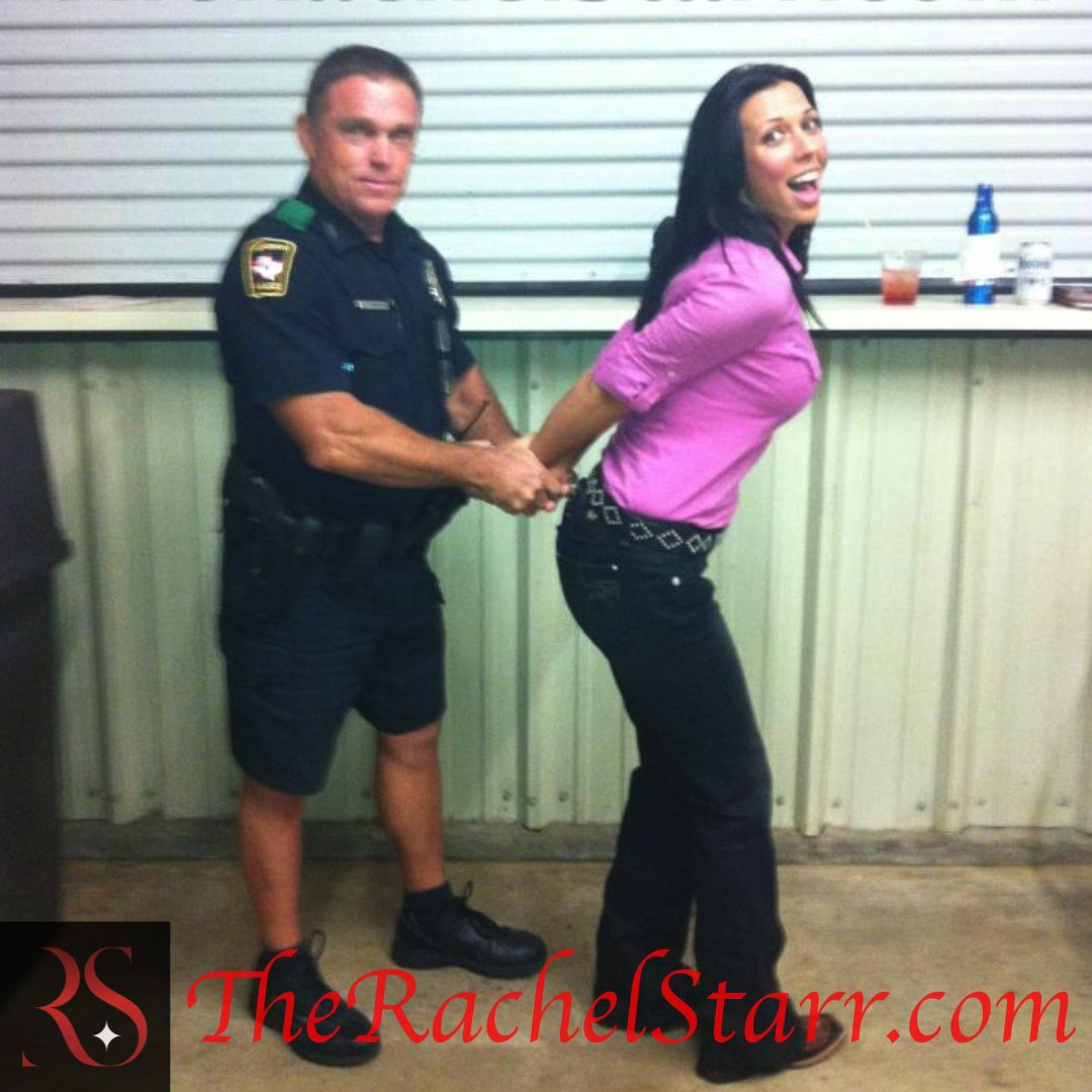 Rachel Starr  - If being hot twitter @RachelStarrxxx hot,fun,arrest