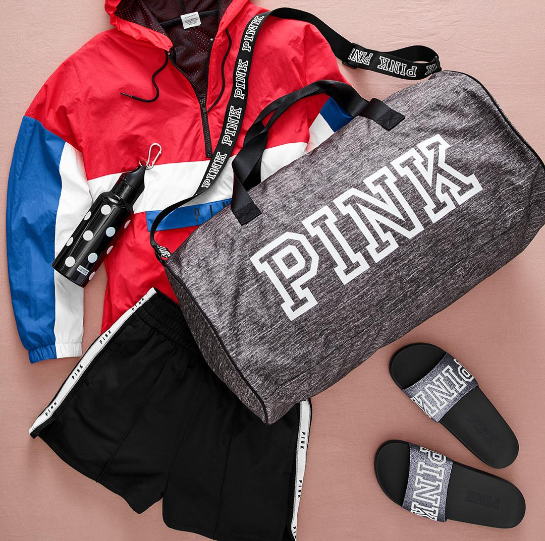 ... a FREE Duffle + Water Bottle (with carabiner)! Get yours on  PINKFriday  (8 3) with a  75 PINK purch! Link in profile for deets.  http   s.vspink.com PFRI ... 976fafc5a3e5f