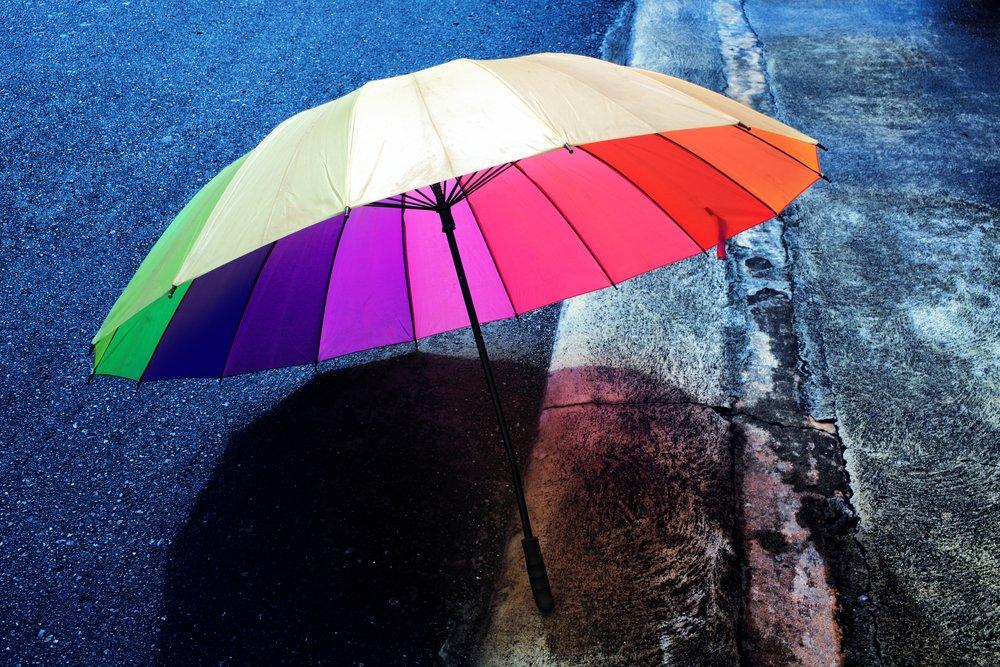 Prayer rain Faith carrying umbrella Faith sense knowing divine Faith