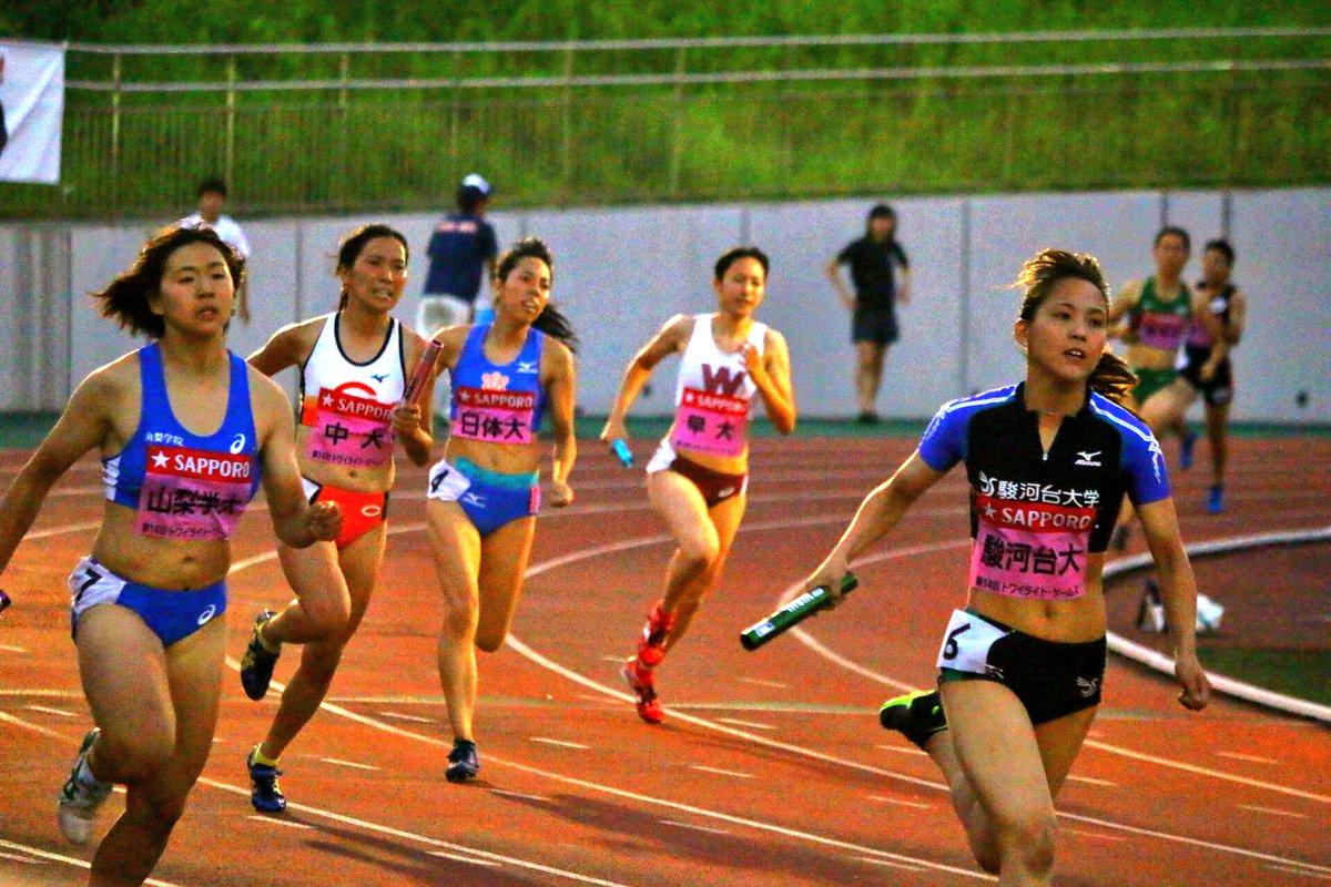 #トワイライトゲームス  女子4×400mR 決勝   1走