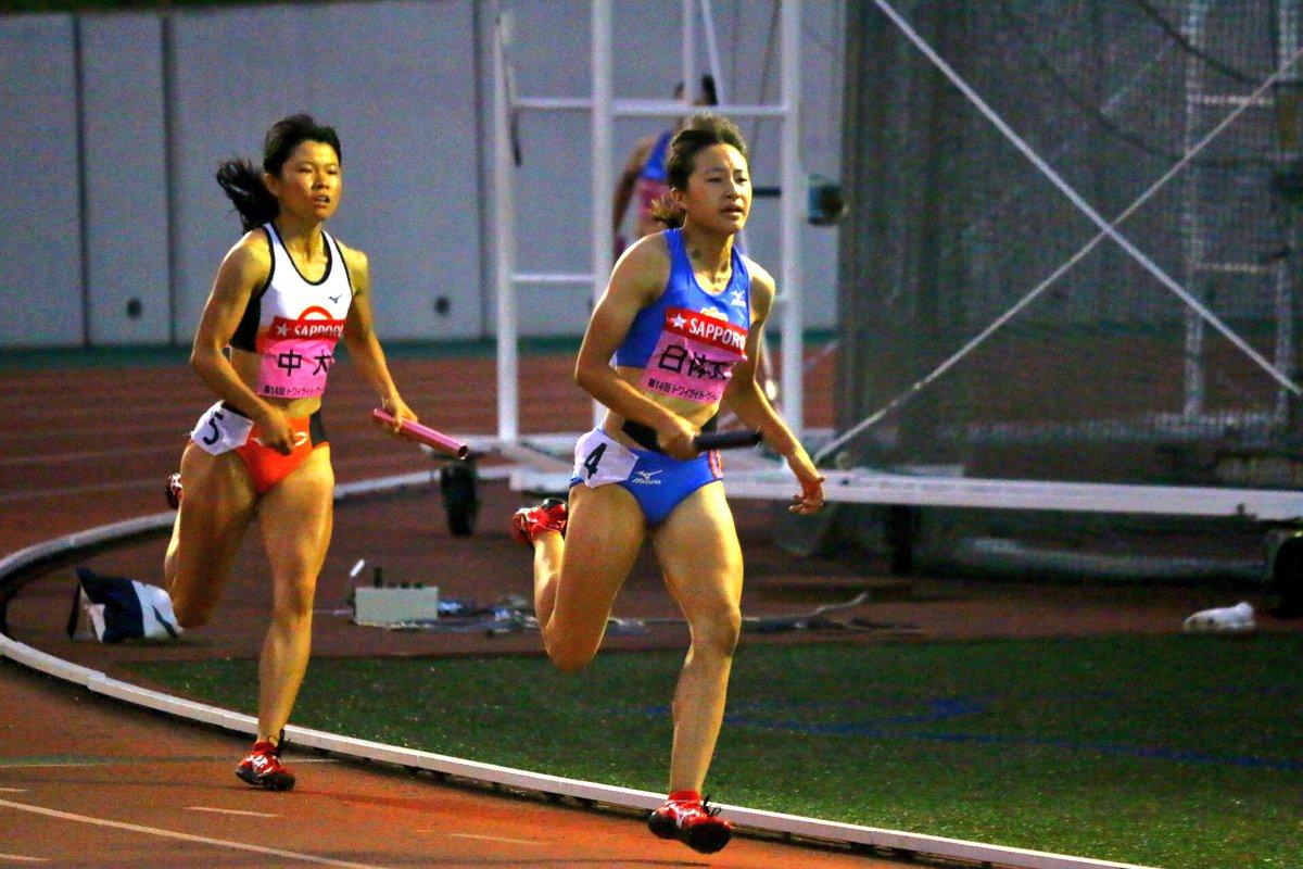 #トワイライトゲームス  女子4×400mR 決勝 『ライバル』  日本体育大学 中央大学