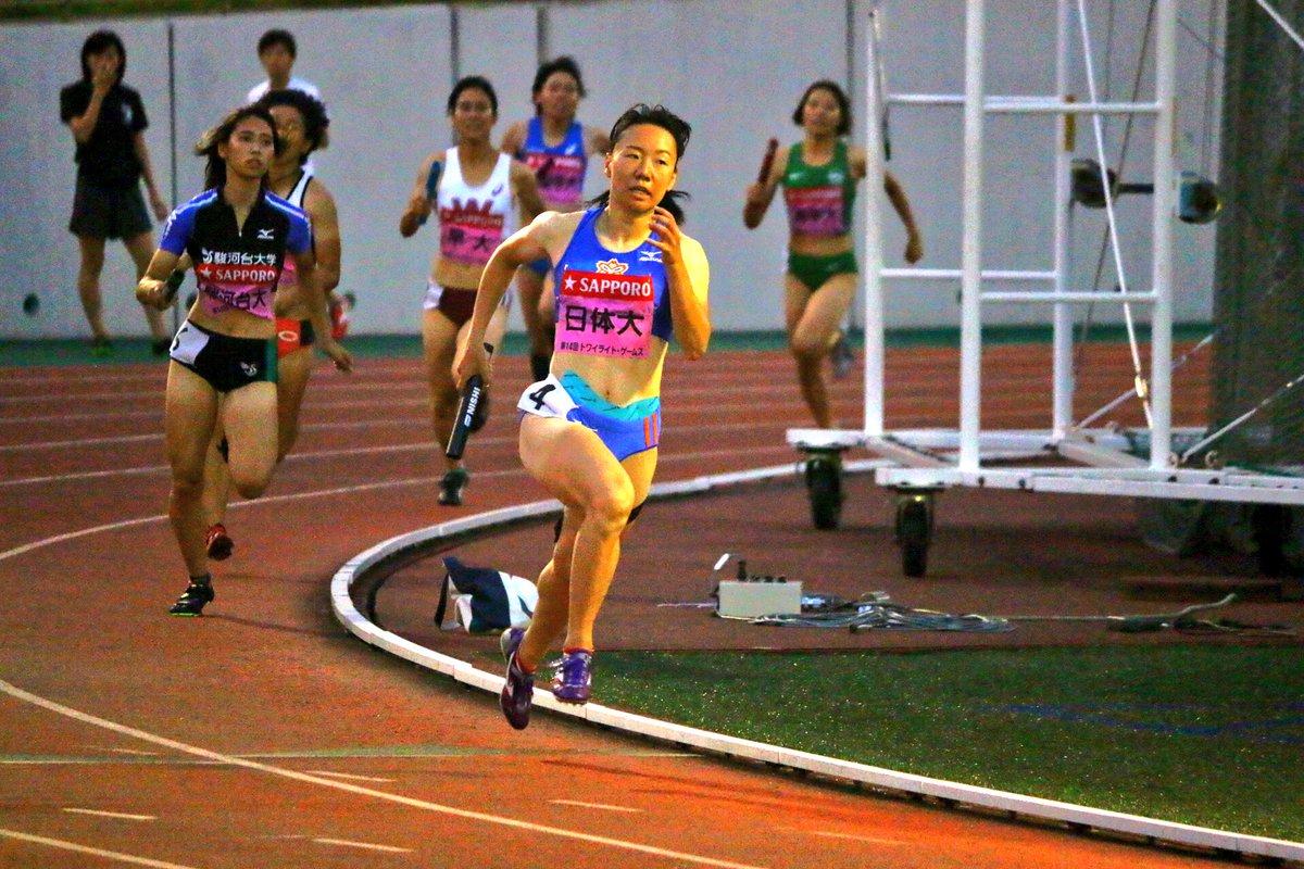 #トワイライトゲームス  女子4×400mR 決勝