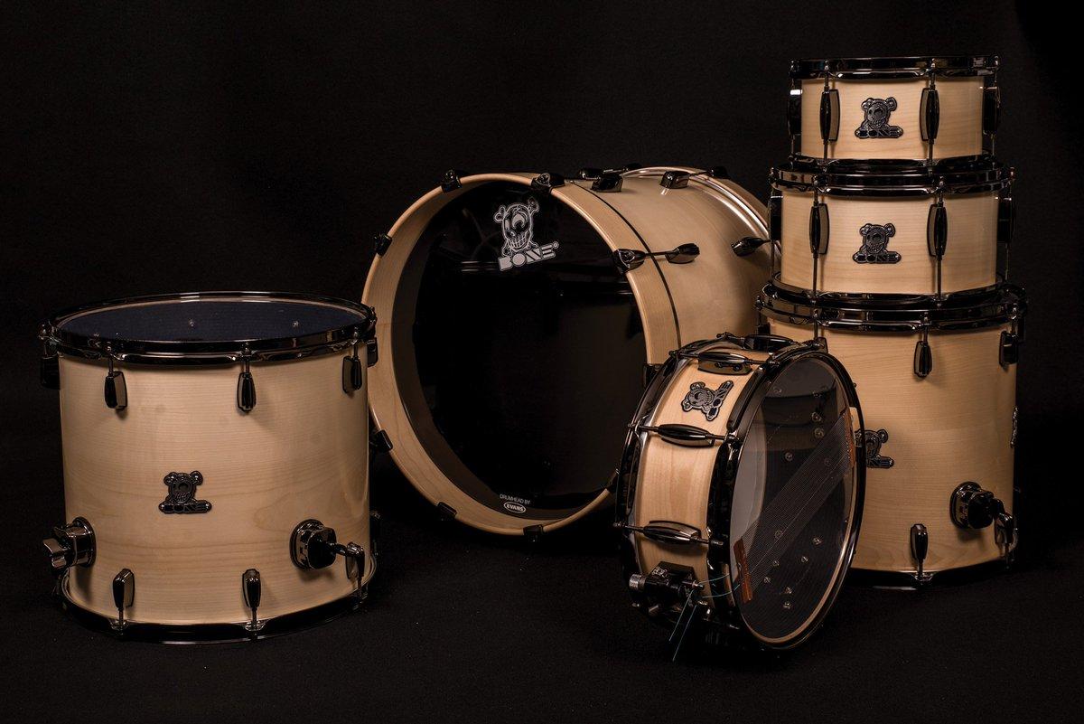 Pearl Fiberglass Drums