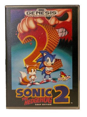 Cheap Ass Gamer On Twitter Sonic The Hedgehog 2 Cartridge Soap 11 53 Via Sega Shop W Code Mania15 Https T Co Xekq7phcdo