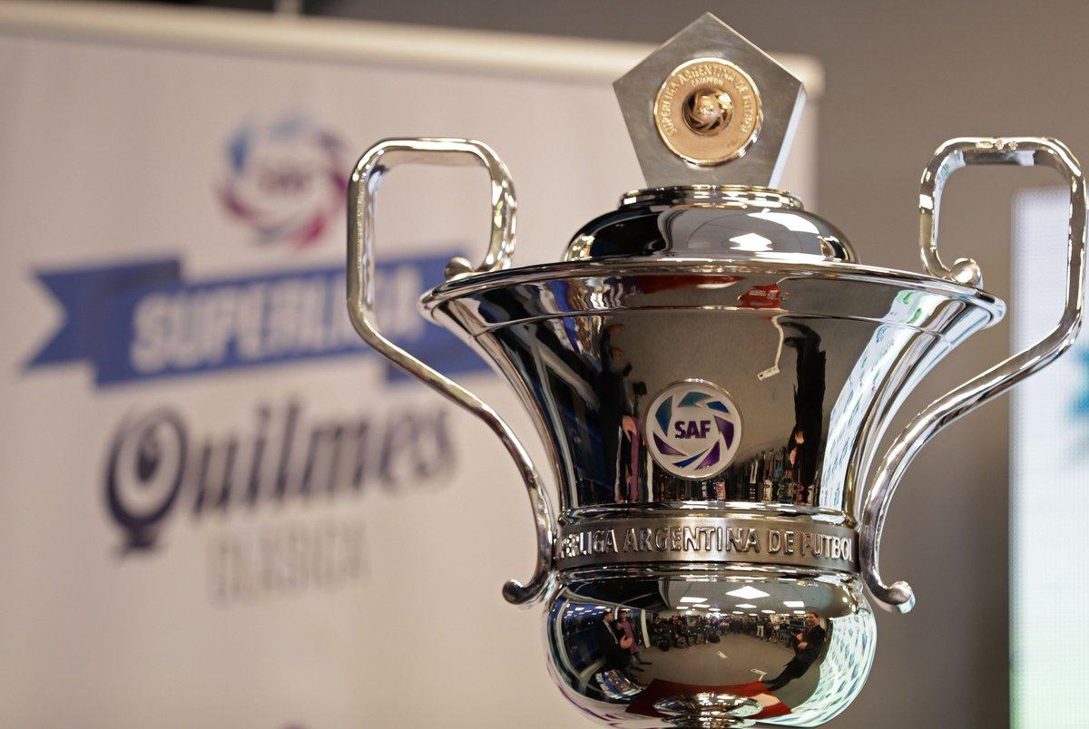 Se anunciaron las primeras cuatro fechas de la Superliga