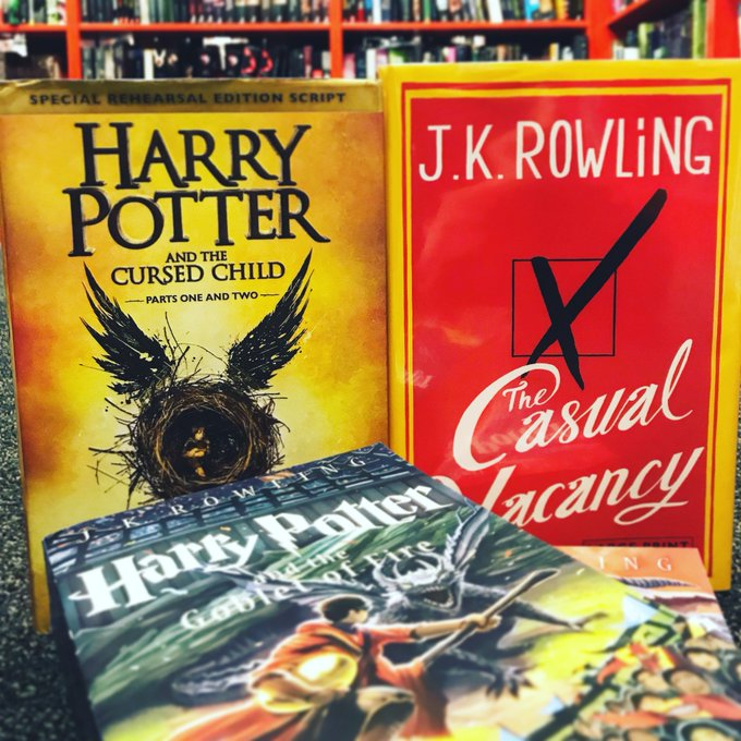 Happy Birthday J. K. Rowling!
