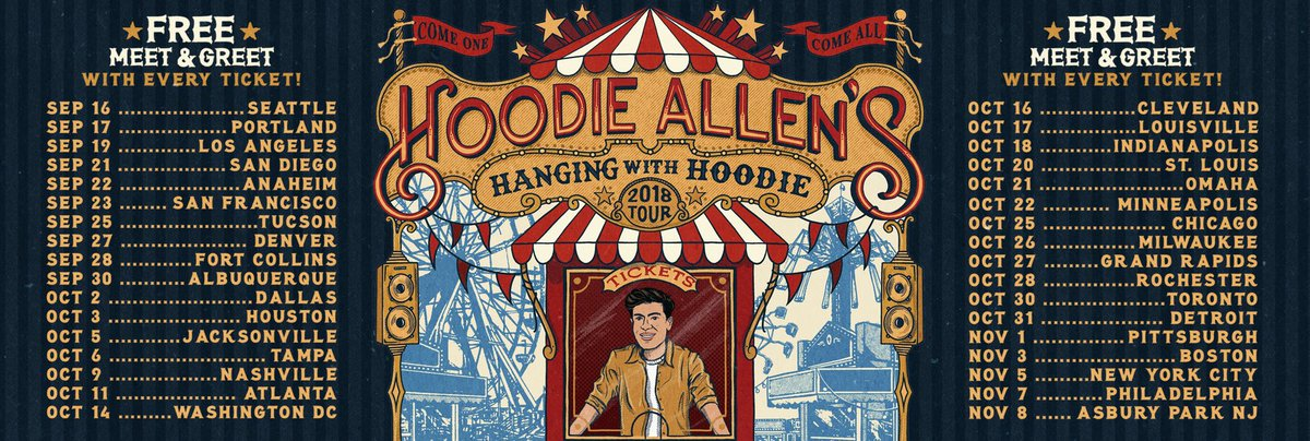 Hoodie allen on twitter presale for tour tmrw at 10 am local if u hoodie allen on twitter presale for tour tmrw at 10 am local if u need the presale code sign up here httpstsu8bzp5sf3 venues are small so dont m4hsunfo