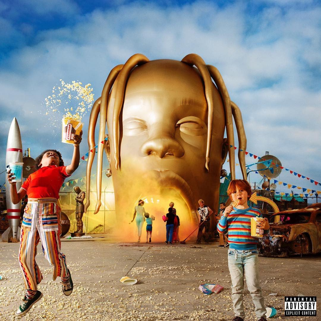 Image result for astroworld cover art twitter reveal
