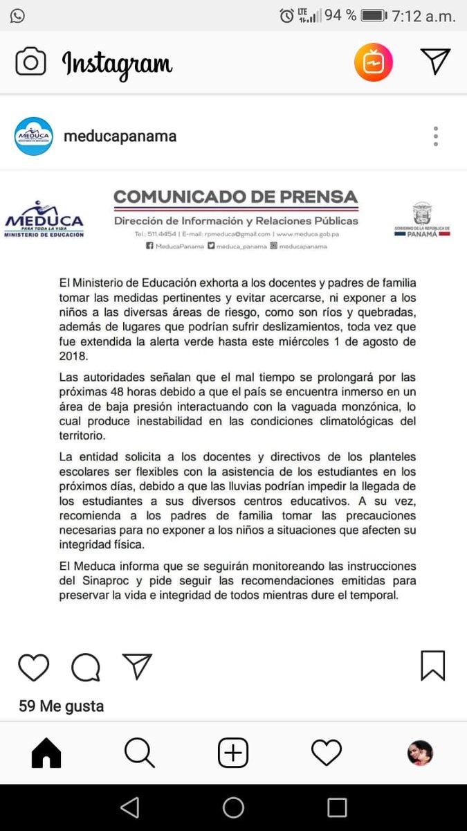 Sinaproc Panama On Twitter Recomendaciones Ante Vientos Fuertes