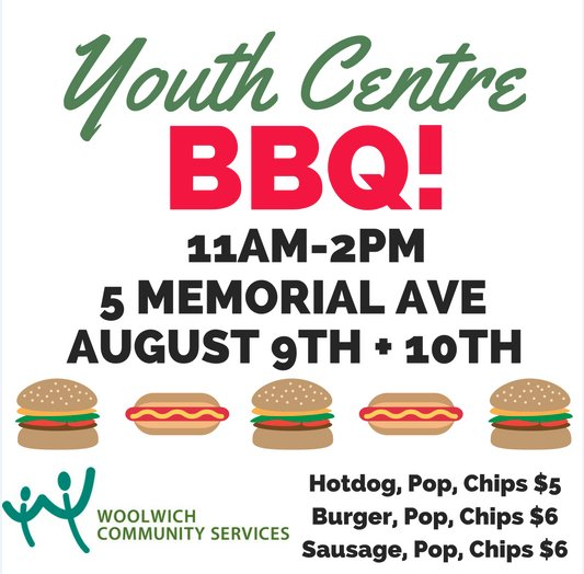 Youth Centre BBQ poster