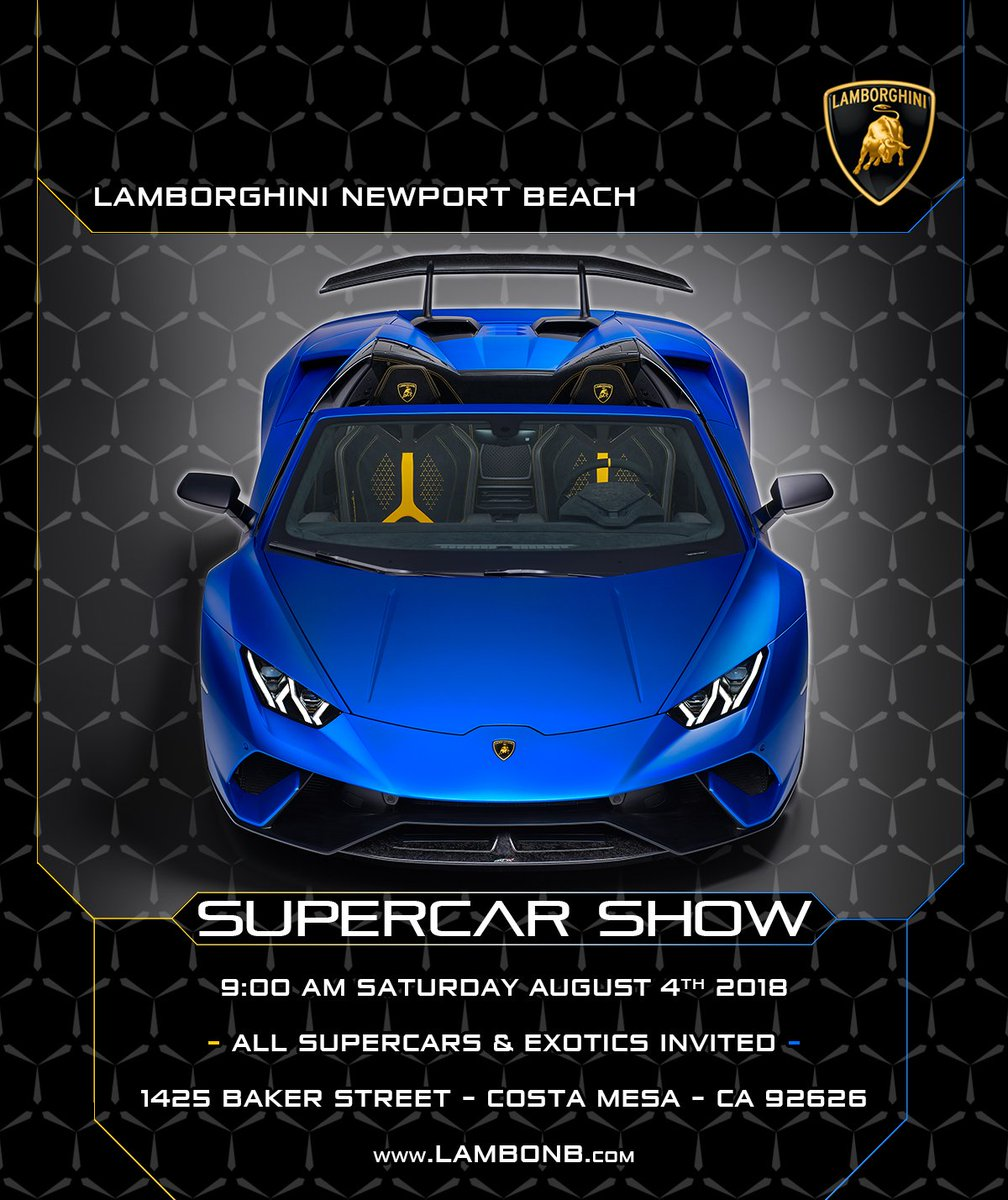 Lambo Newport Beach On Twitter We Re Excited To Announce That Our
