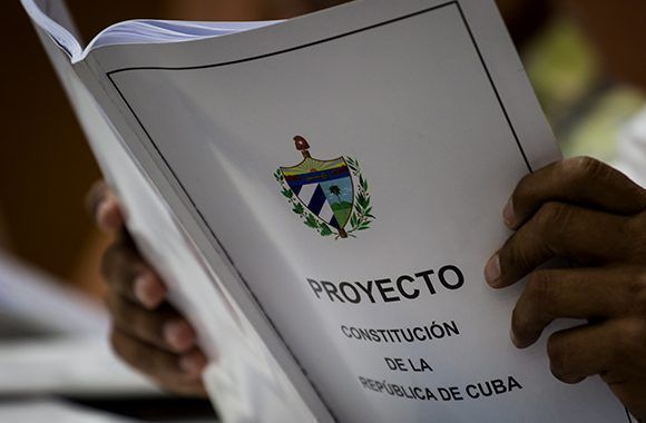 Cerró en Las Tunas consulta popular sobre el Proyecto de Constitución