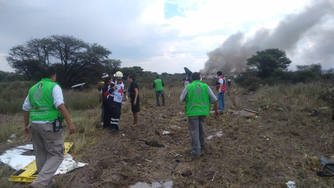 La colaboración entre pasajeros y tripulantes permitió evitar víctimas mortales en Durango