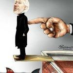 """En la Plataforma Digital""  (On the Digital Platform)  #JulianAssange #WikiLeaks #Ecuador #UK #USA #London #FreeAssange #IStandWithJulianAssange #LeninMoreno #FreedomOfSpeech @JulianAssange"