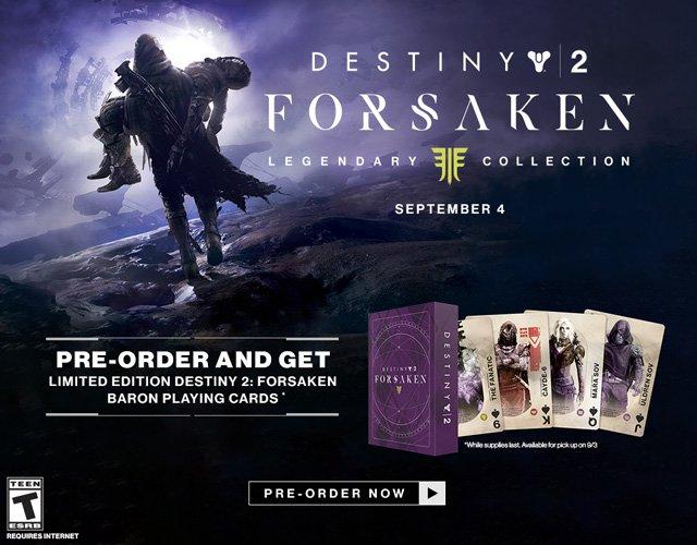 c1417055df3 Bungie Informer  BungieInformer. GameStop has a Destiny 2  Forsaken  Legendary Collection Edition ...