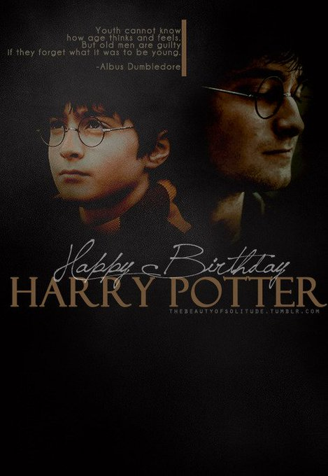 Happy Birthday, Harry Potter, and J.K. Rowling!