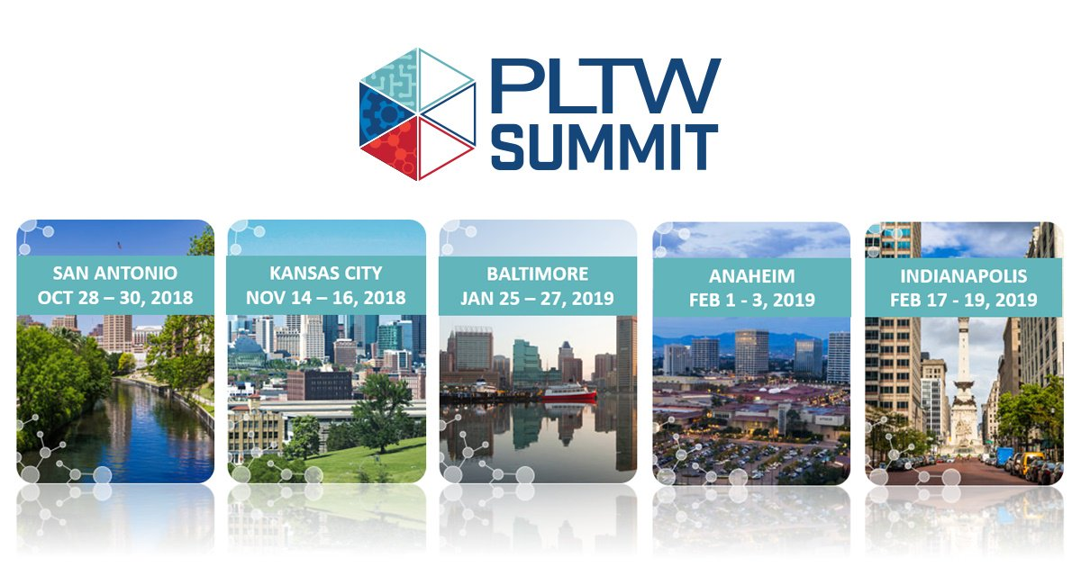 Project Lead The Way On Twitter We Ve Expanded PLTW Summit